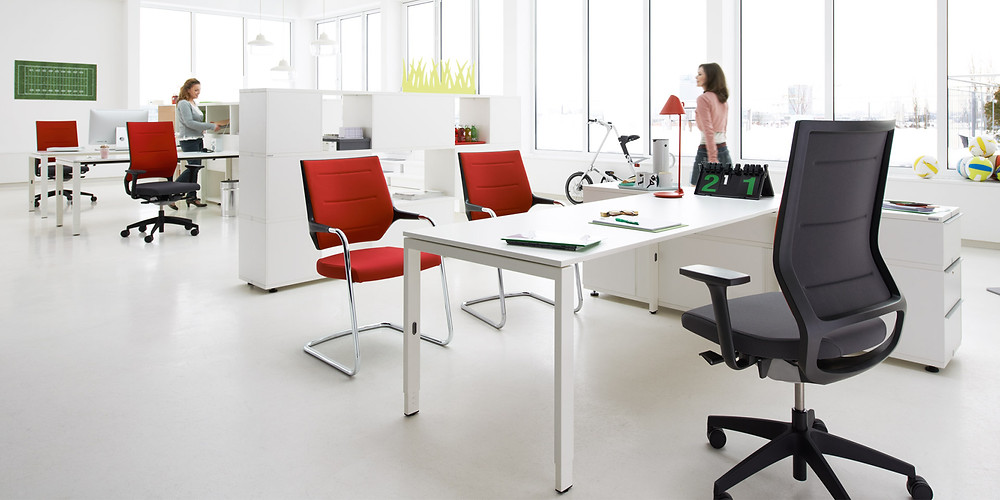 An example of Sedus office furniture