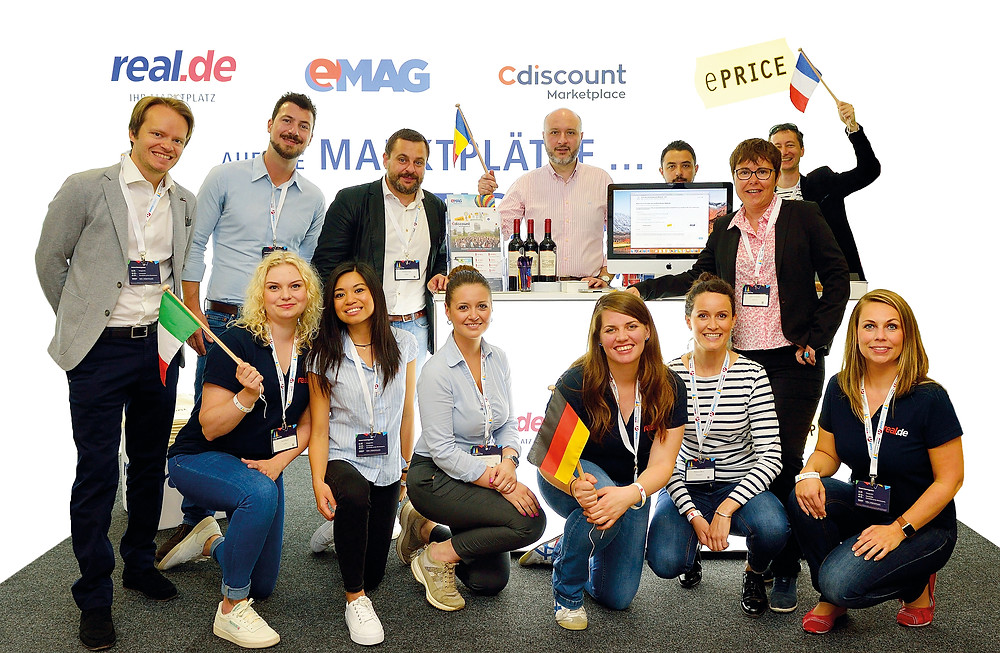 Cdiscount, eMAG, ePrice and Real.de, the partners behind the International Marketplace Network