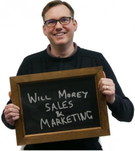 (Obviously) Will Morey, sales and marketing director of Pragma