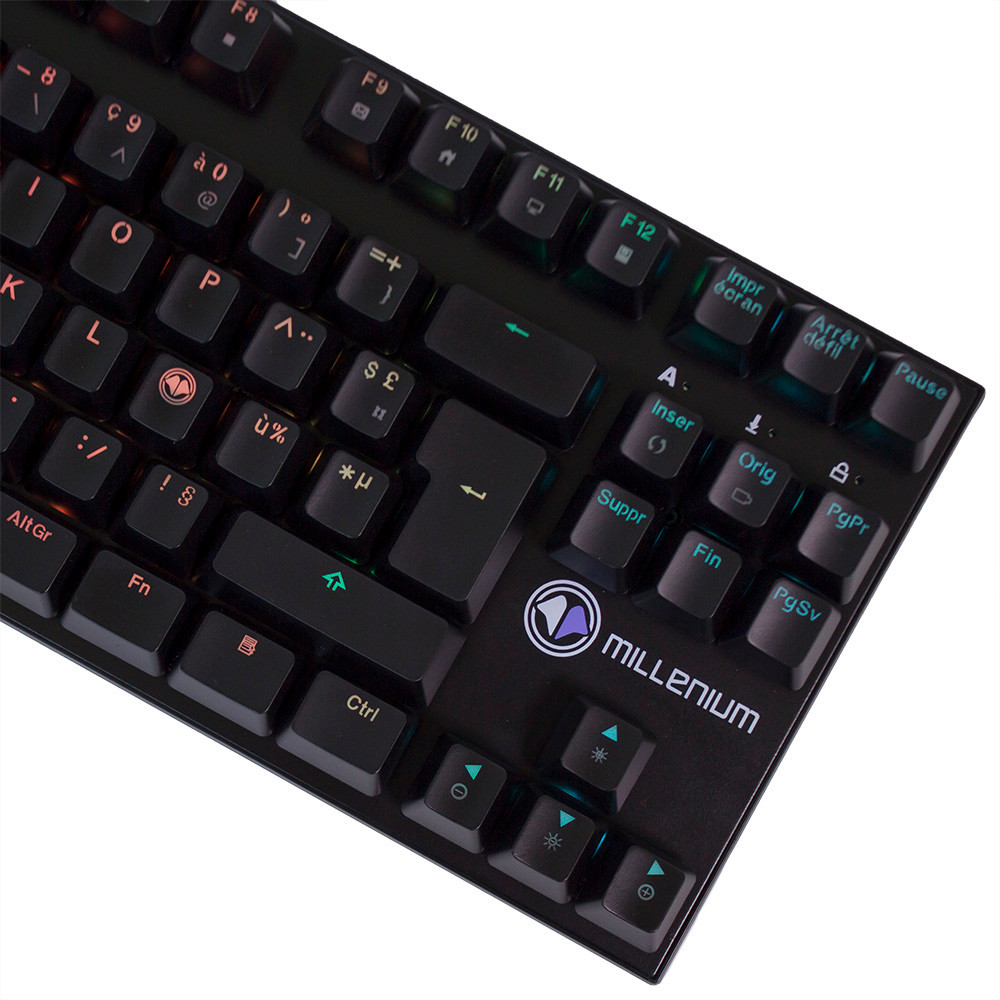 The Millenium gaming keyboard is one the first accessories to have been launched through the partnership