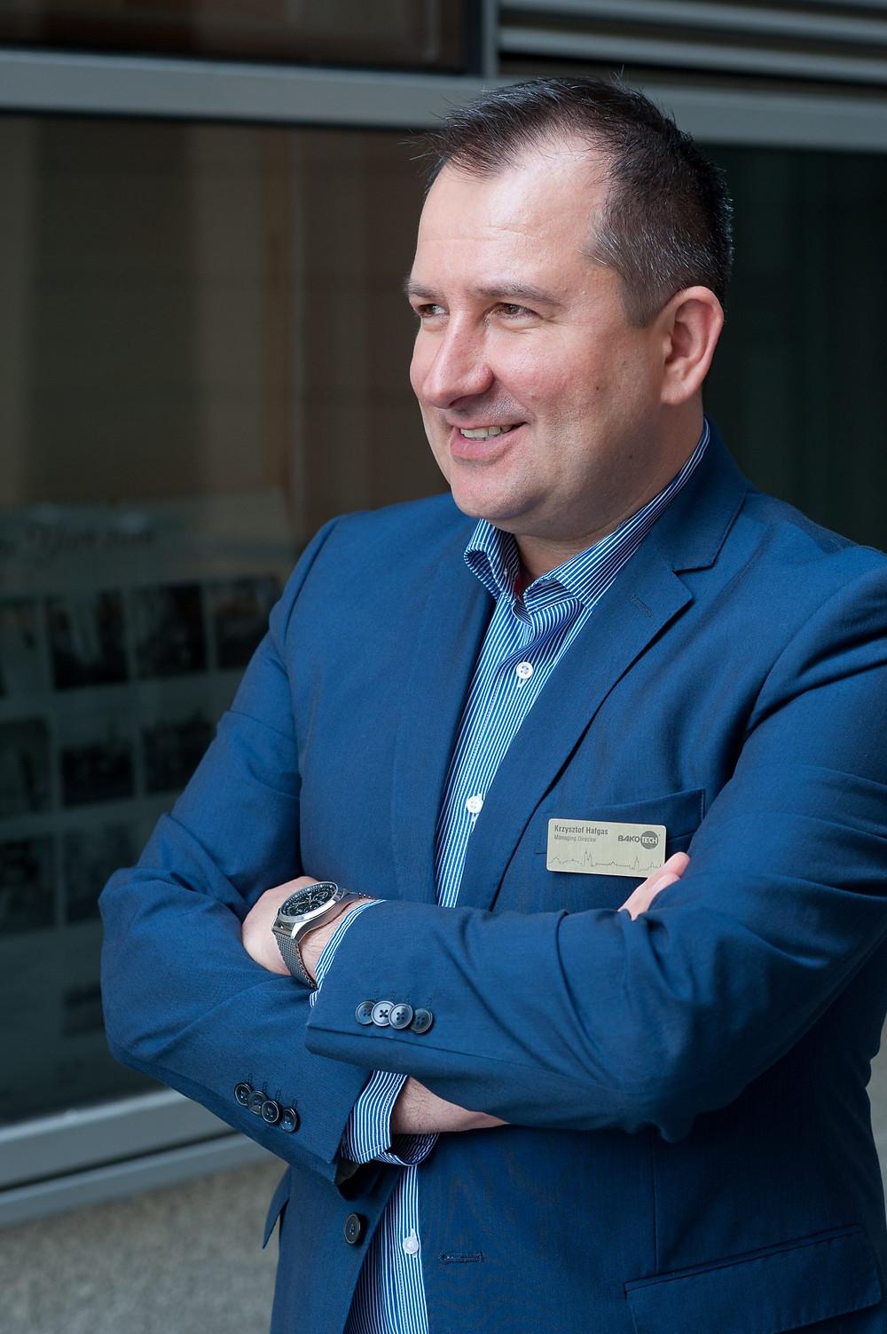 Krzysztof Hałgas, Managing Director of Bakotech Polska