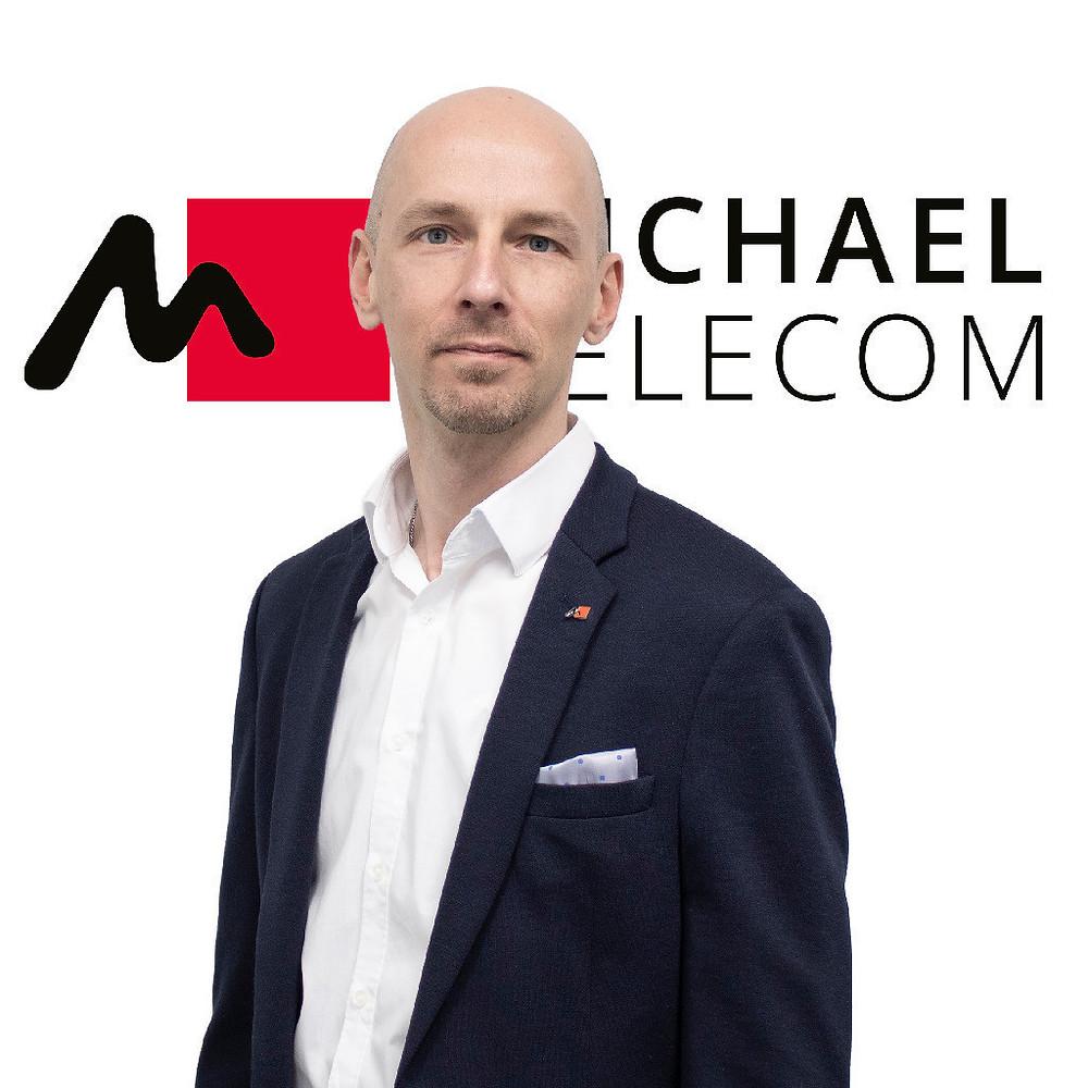 Oliver Hemann, member of the board of Michael Telecom