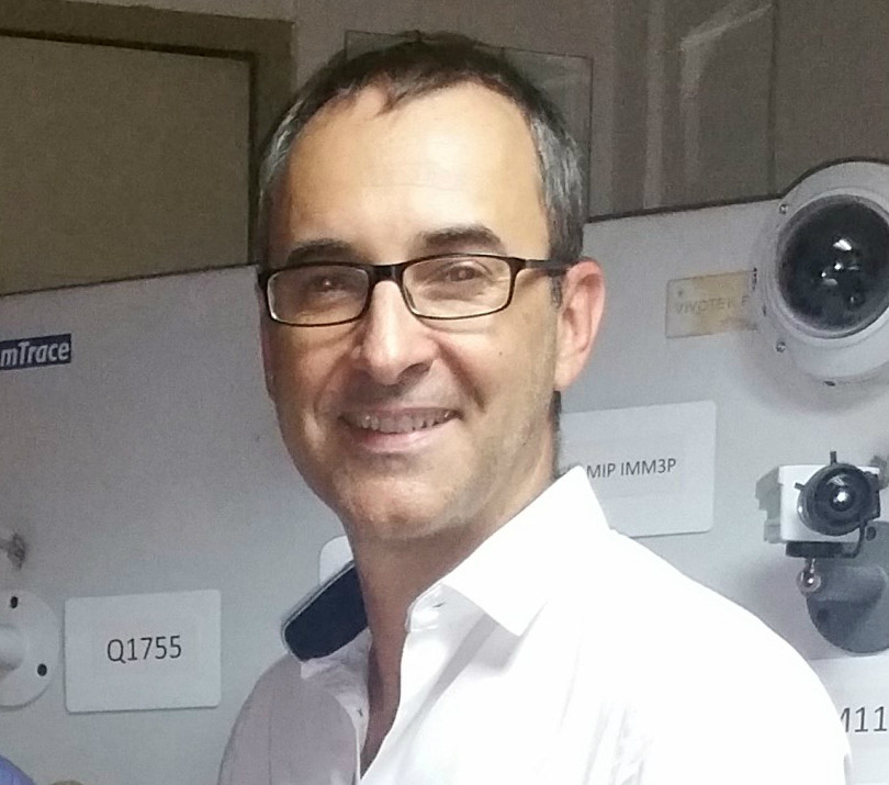 Florent Berge, manager of EET Europarts France