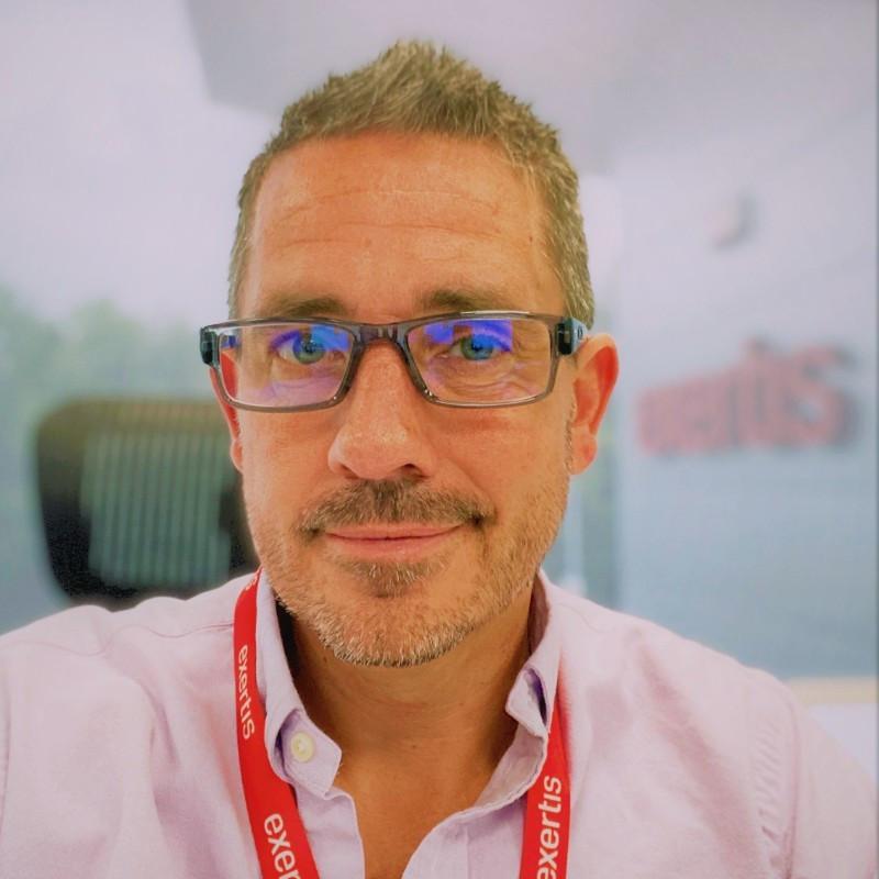 Jonathan Sutherland, Retail Sales Director at Exertis
