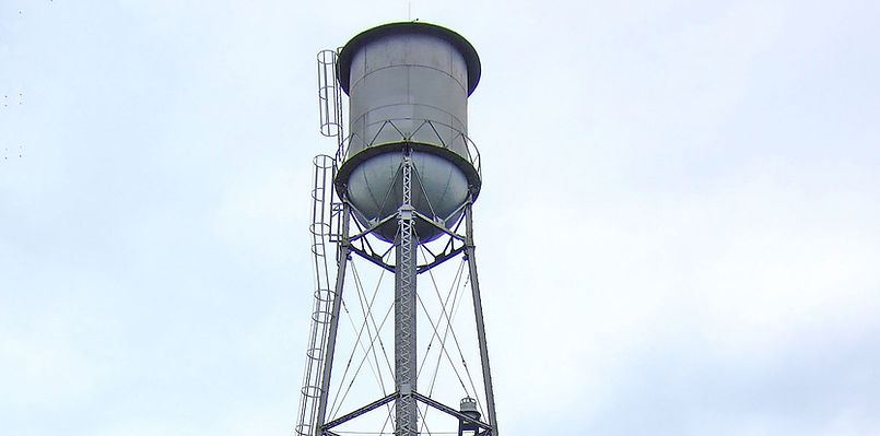 Old water tower in Oregon