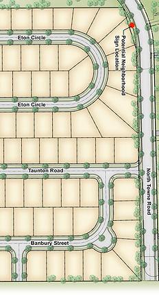Banbury Heights of Windsor Crossing Concept Plan
