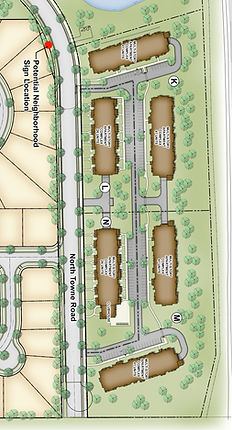 The Terraces of Windsor Crosing Concept Plan