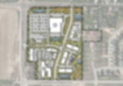 Development master plan map