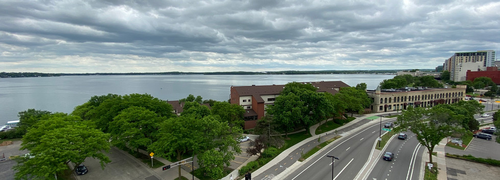 Lake View from the Roof Deck