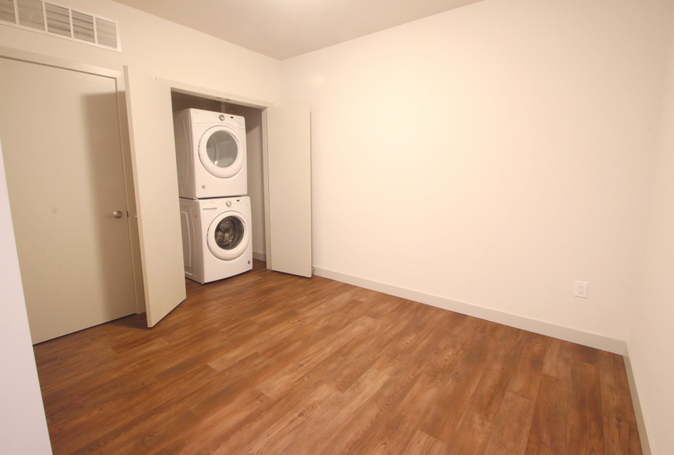 Den and Laundry Area