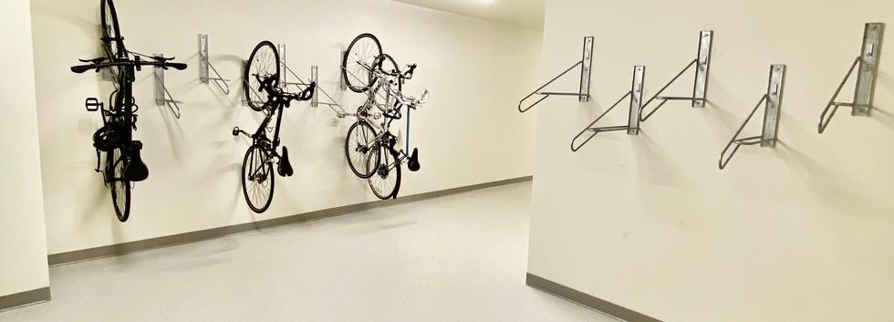 Indoor Bike Storage Area