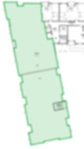 Building C commercial space floor plan