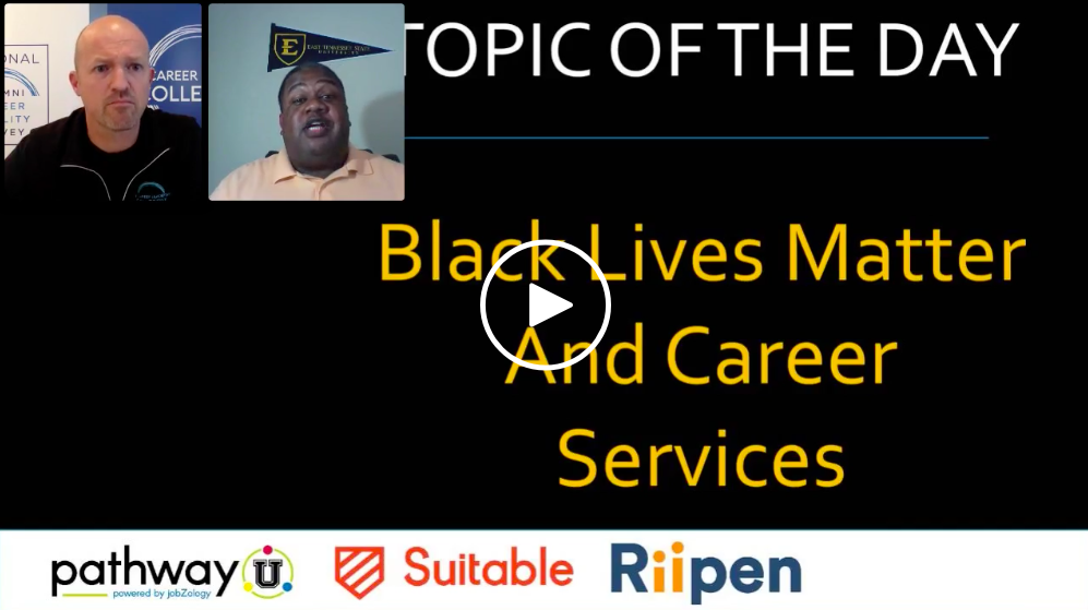 Black Lives Matter & Career Services