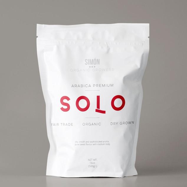Solo Coffee brand Identity