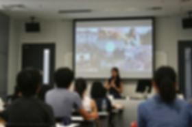 高校2年時に立ち上げた学生団体のイベントを早稲田大学で実施