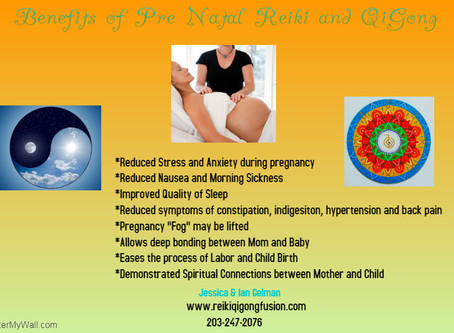 Benefits of Pre Natal Reiki & Qigong