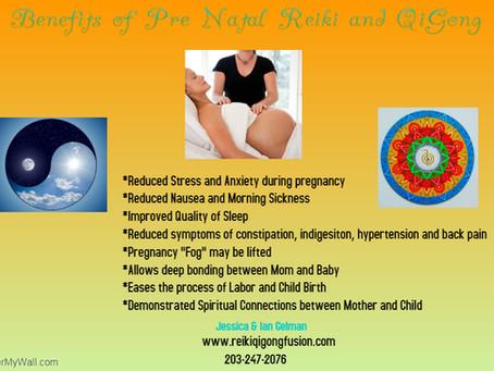 Benefits of Pre Natal Reiki & Qigong