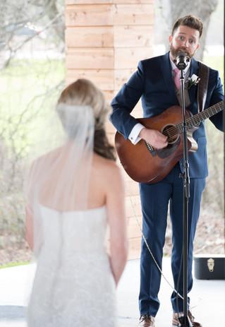 bride and groom wedding ceremony wedding venue