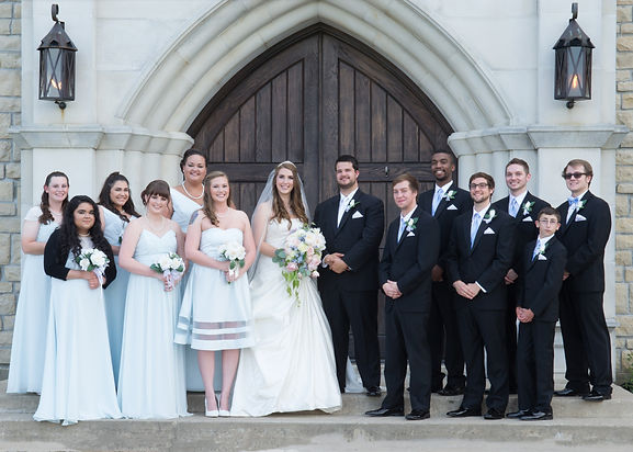 Wedding photography at The Castle at Rockwall