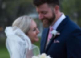 Wedding photography bride and groom at Morgan Creek Barn