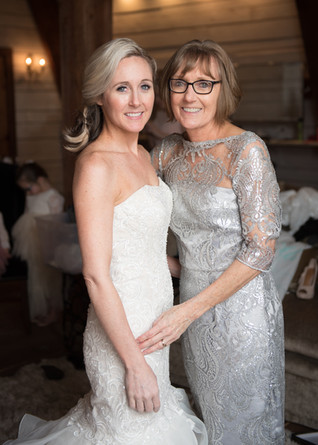 mother of the bride bride wedding dress