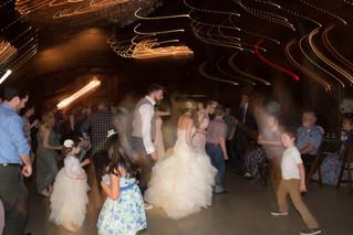 wedding reception dance bridal party