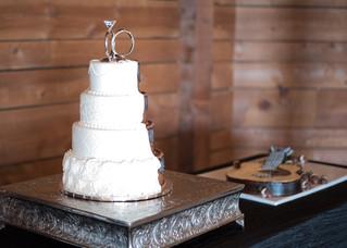 wedding cake grooms cake