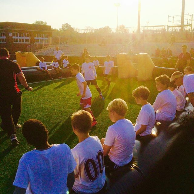 Nashville Soccer Alliance #fun with Darren Laver and _issastreetsoccer _#likemindedclubs #freeplay #