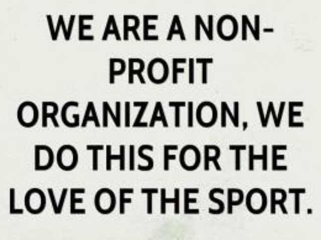 We are not a business, we are a #nonprof