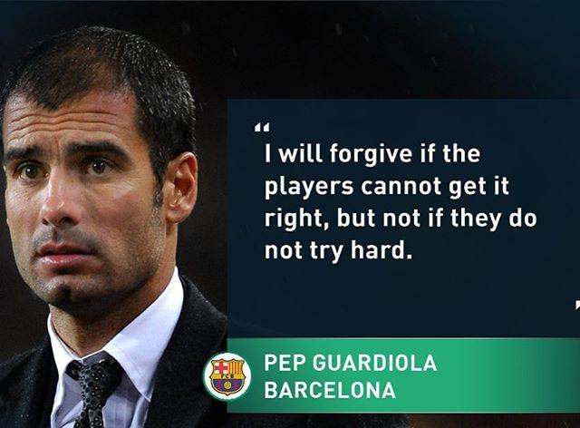 #quoteoftheday #hardwork #guardiola #sab