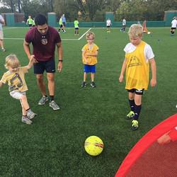 Nashville Soccer Alliance and Each One Teach One today _montgomerybellacademy #⚽️ #likemindedclubs #