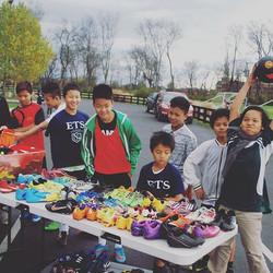 __One of NUSA's outreach programs, helping refugee children!!!👍⚽️#nashvillesoccer #soccerforlife #c