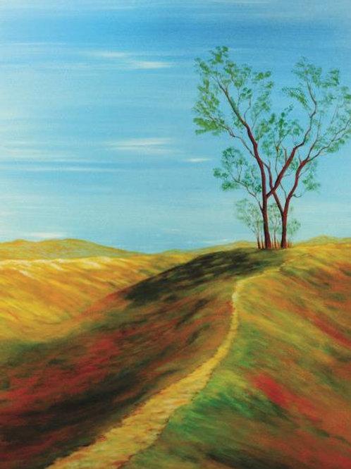 Quadro Árvore no Campo - QD026
