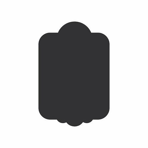 Adesivo Lousa Preto Prancheta
