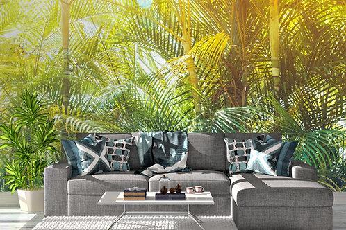 Foto Mural Artistico Floresta Tropical