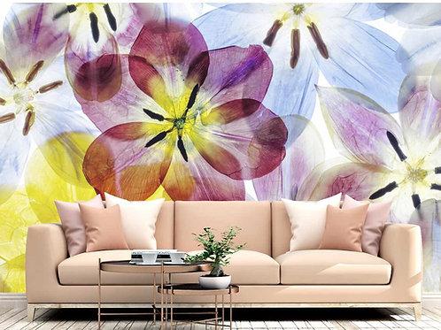 Foto Mural Artístico Flores Grandes