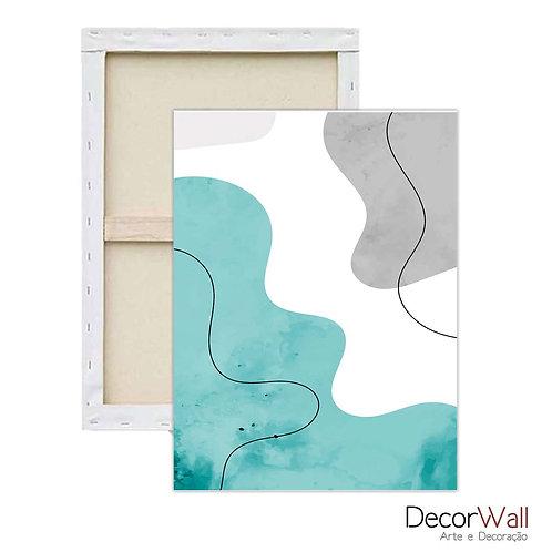 Quadro Decorativo Canvas Abstrato Artístico