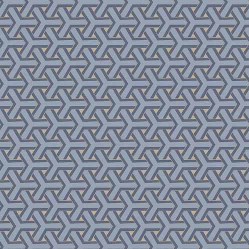 Papel de Parede 3D Geométrico  - Diplomata3148