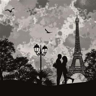 Artes visuais 077-Vetor romantico em Paris.jpg