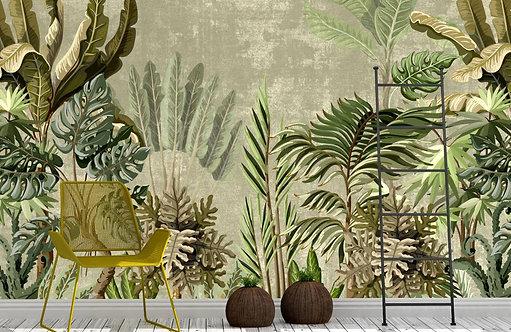 Foto Mural Artístico Floresta Tropical