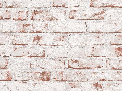 Papel de Parede Tijolo de Demolição Vinílico com textura