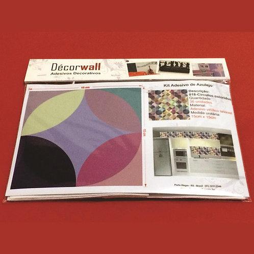 Adesivos Para Azulejo - Círculos Colorido