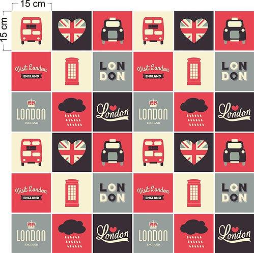 Adesivos Para Azulejo - Londres