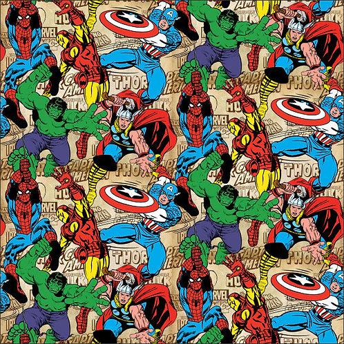 Adesivo de Parede Super-Herói