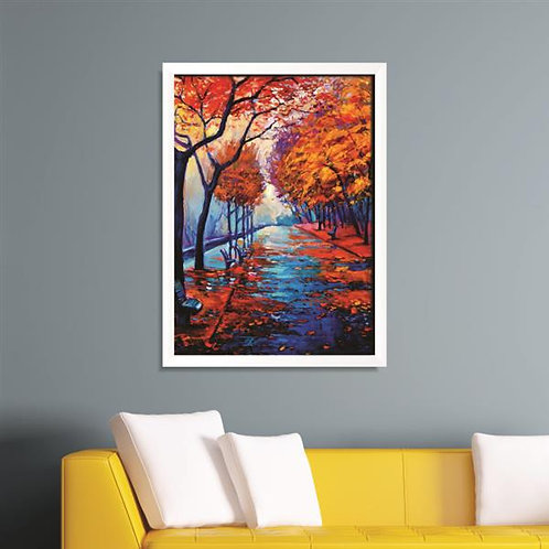 Quadro Floresta de Outono - QD034