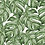 Thumbnail: Papel de Parede Botânico Folhas Verde