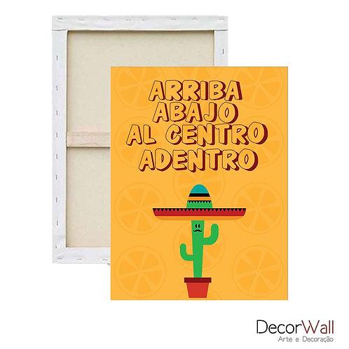 Quadro Decorativo Canvas Frases Divertidas