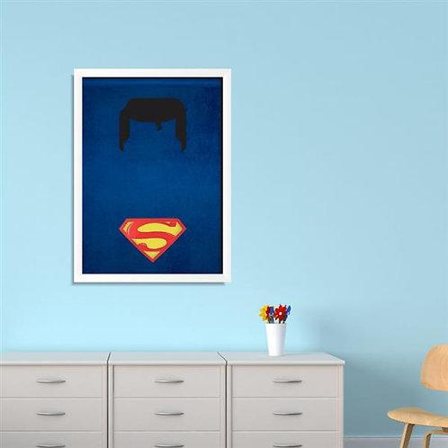 Quadro Super Homem - QD049