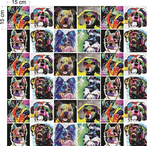 Adesivos Para Azulejo - Pop Cachorros
