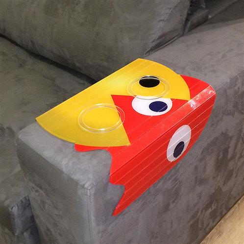 Esteira Para Sofá Em Acrílico Pacman